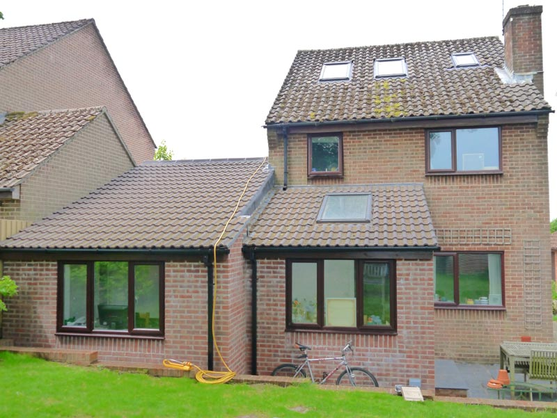 Extensive renovations including single storey extension and loft conversion