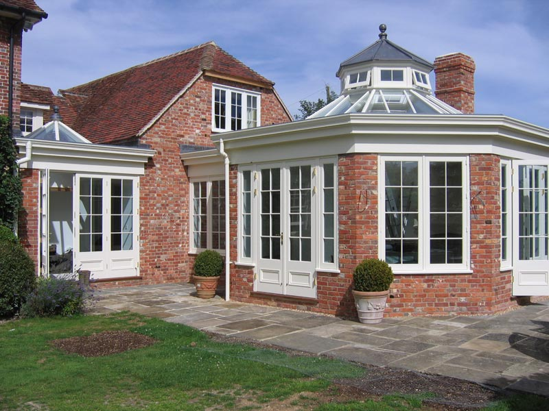 Fabulous extension with feature glass roof